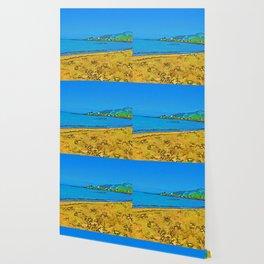 Deserted Cooks Beach Wallpaper