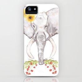 welcoming elephant iPhone Case