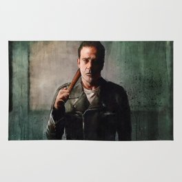 Negan (the walking dead) Rug