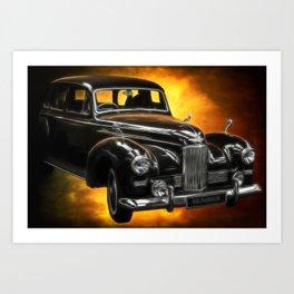 Humber Pullman Limousine Art Print