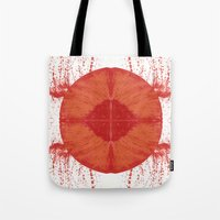 u2 Tote Bags featuring Sunday bloody sunday by Art Pass