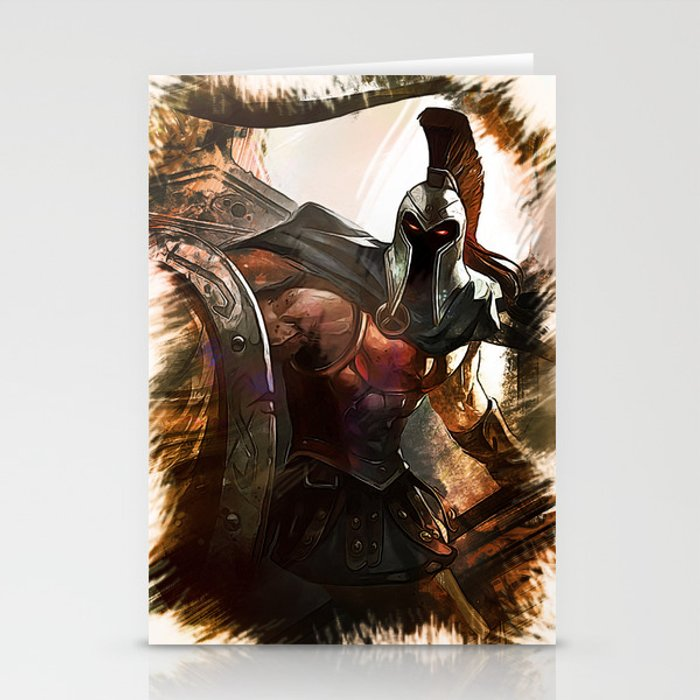League of Legends PANTHEON Stationery Cards