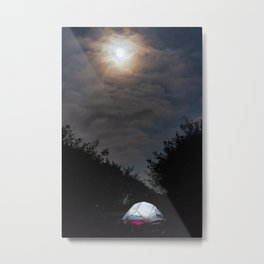 Camp at Big Flat Metal Print