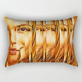 Golden Oranje Dutch Royalty Rectangular Pillow