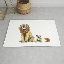 Lions Rug