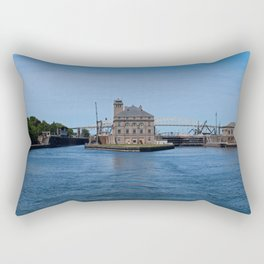 Operations Administrations Building for the Soo Locks Rectangular Pillow