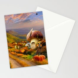 Hidden Village Stationery Cards