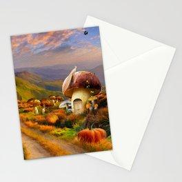 Hidden Village Stationery Cards