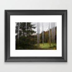 Droplet Landscape II Framed Art Print