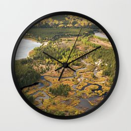 Amazing Nature Wall Clock