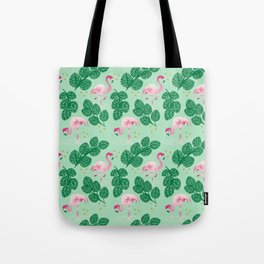 Flamingo Friends Tote Bag