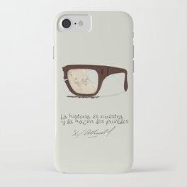 Salvador Allende Lente - TrincheraCreativ iPhone Case