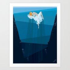 Sea Dance Art Print