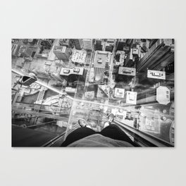 Chicago from the top Canvas Print