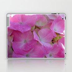 Raindrops on Hydrangeas Laptop & iPad Skin