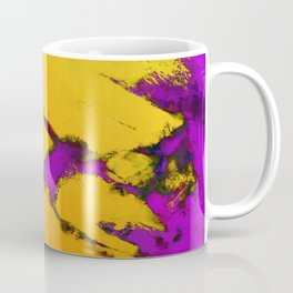 Yellow erosion Coffee Mug