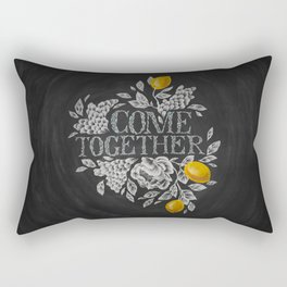 Come Together Rectangular Pillow