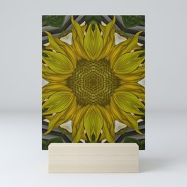 Sunflower Flare Mini Art Print