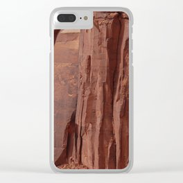 Canyonlands Strata Clear iPhone Case