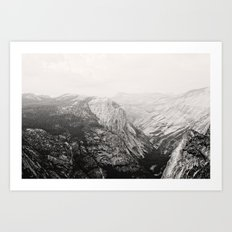 Yosemite Beauty (b&w)  Art Print