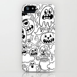 Ghosts & goblins iPhone Case