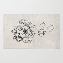 Flower Hairpin Rug