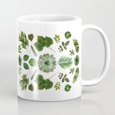 GREEN COLLAGE Mug