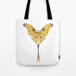 Comet moth (Argema mittrei) Tote Bag
