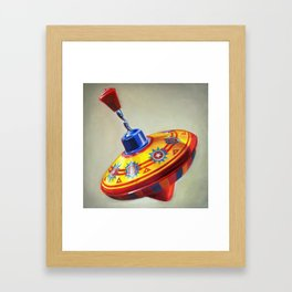 Spinning Top Framed Art Print
