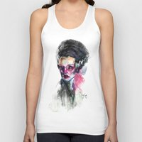 bride Tank Tops featuring Bride by Saje Gary