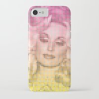 dolly parton iPhone & iPod Cases featuring Dolly Dots by Hoeling