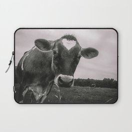She wears her heart for all to see Laptop Sleeve