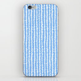 Vines - Blue iPhone Skin
