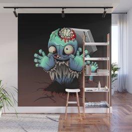 Zombie Monster Cartoon Doll Wall Mural
