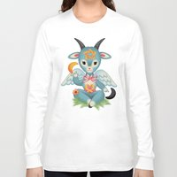 baphomet Long Sleeve T-shirts featuring Baby's First Baphomet by Artetak
