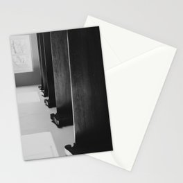 Old Church Pews Stationery Cards