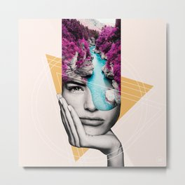 Open Minded 05 Metal Print