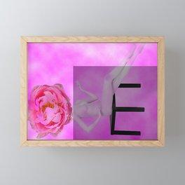 Bashfulness Framed Mini Art Print