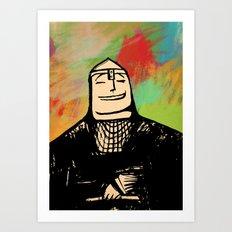 Norman Art Print