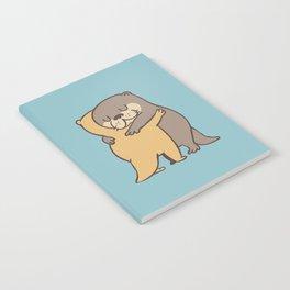 Otter Hugs Notebook