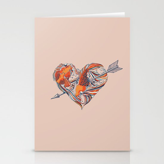 Form of Love Stationery Cards