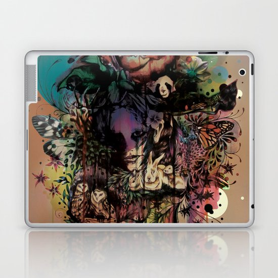 Fauna and Flora Laptop & iPad Skin
