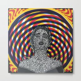 Psychdelic Journey Metal Print