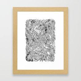 Psychwaves Framed Art Print