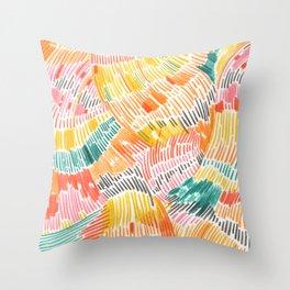Pattern 6 Throw Pillow
