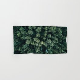 Forest from above - Landscape Photography Hand & Bath Towel