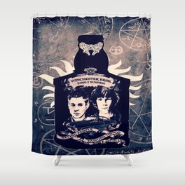 Supernatural In A Bottle Shower Curtain