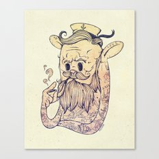 Hello Sailor!! Canvas Print