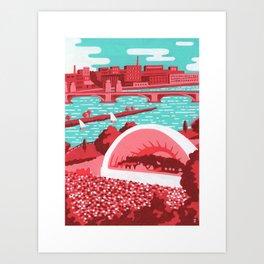 The Hatchshell - Boston Landmarks Art Print