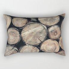 Wood Spirit Rectangular Pillow